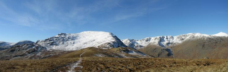 Saint Sunday Crag from Birks' summit