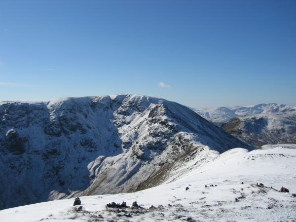 Fairfield from Saint Sunday Crag's summit