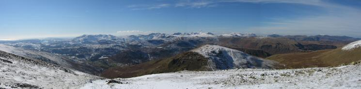 Westerly panorama from Fairfield