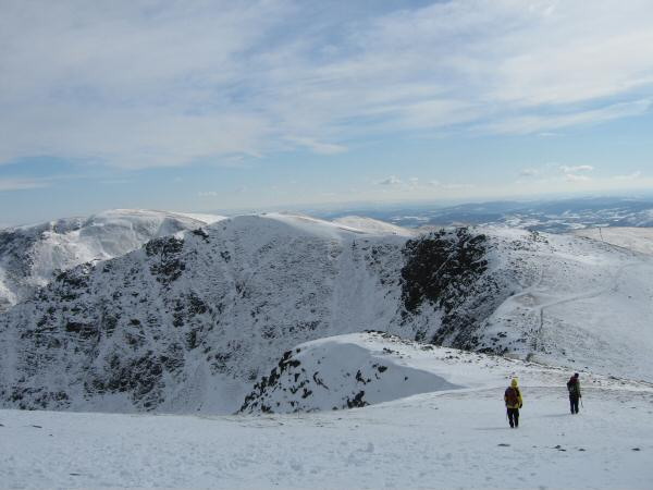 Looking back to Dollywaggon Pike from High Crag
