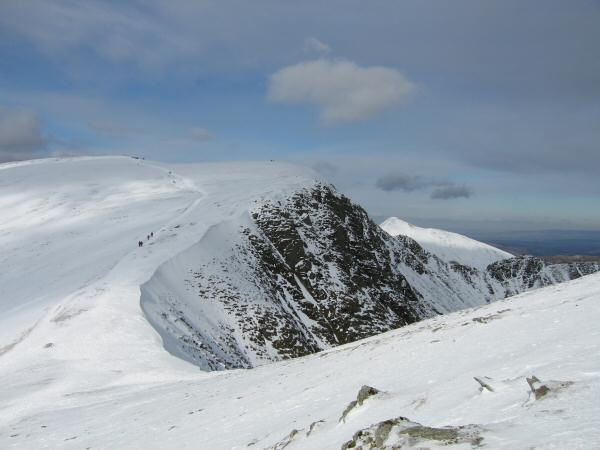 Helvellyn from Nethermost Pike