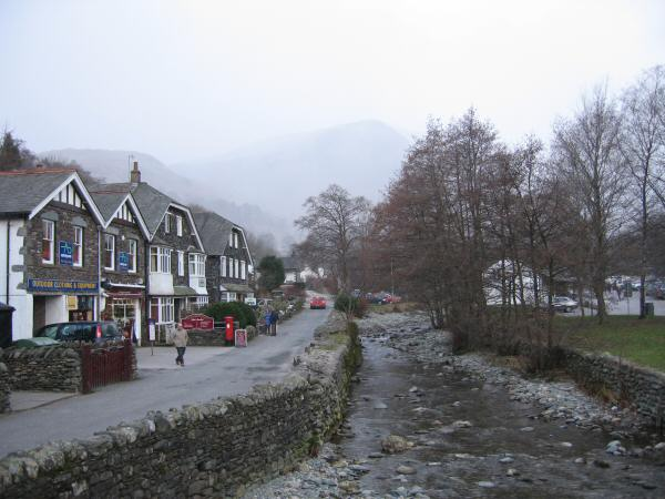 Glenridding as the weather deteriorates
