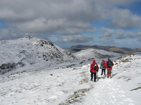 Heading for Ore Gap and Esk Pike
