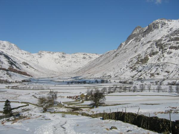 Mickleden from the Blea Tarn road
