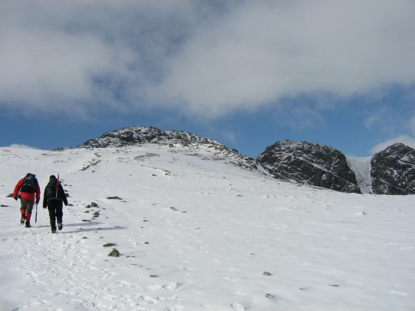 Heading for Crinkle Crags