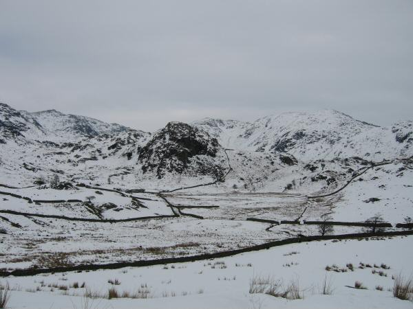 The Bell with Wetherlam behind from near the Fell Gate (Walna Scar Road)