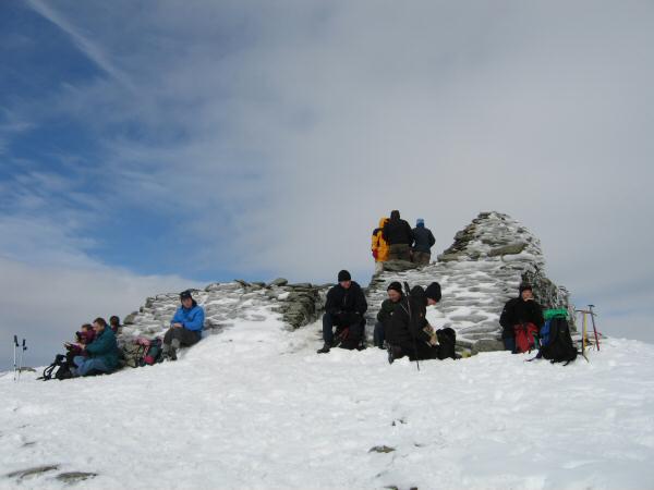 Coniston Old Man's summit