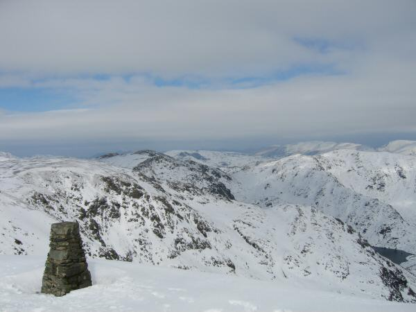 Brim Fell, Swirl How, Wetherlam and Levers Water