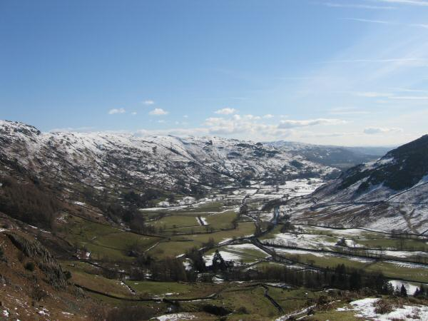 Great Langdale from Mark Gate
