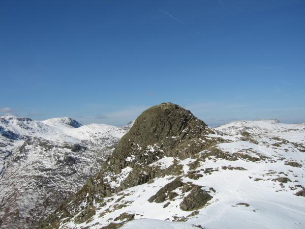 Pike o' Stickle from Loft Crag's summit