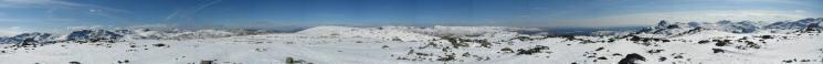 360 Panorama from Thunacar Knott's summit