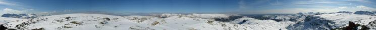 360 Panorama from Sergeant Man's summit