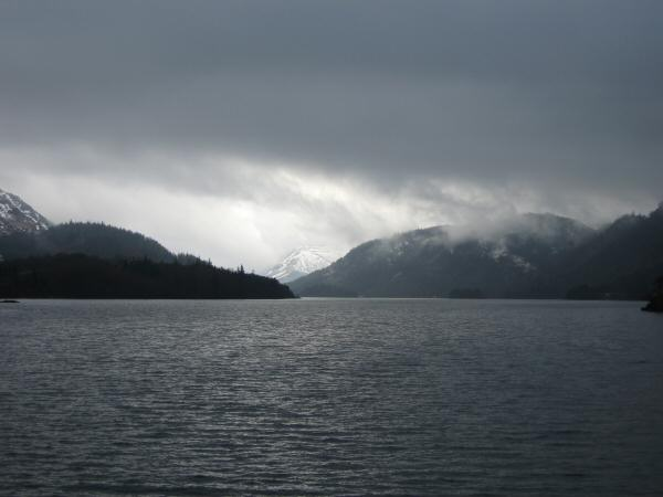 Looking up Thirlmere from the dam