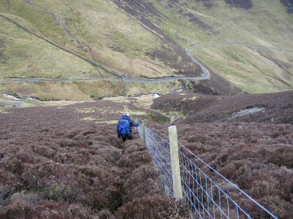 Descending to the Cumbria Way
