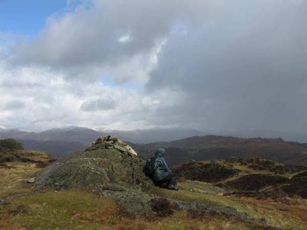 Holme Fell's summit