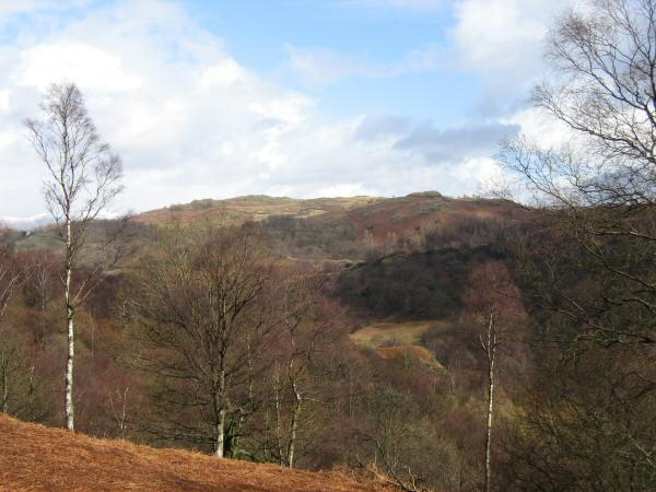 Black Crag from the descent from Uskdale Gap