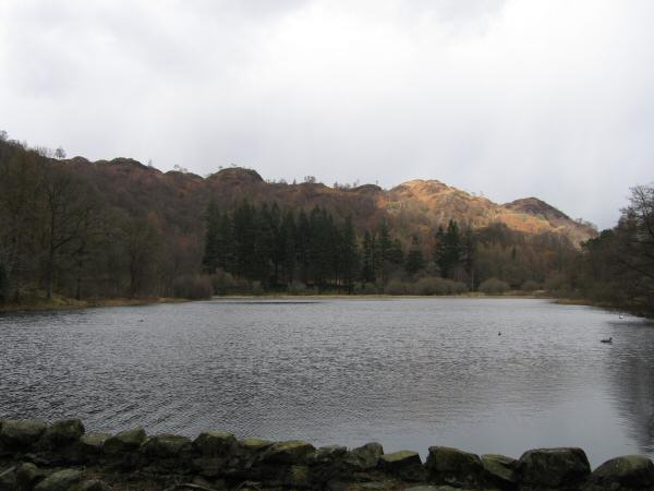 Yew Tree Tarn from its dam
