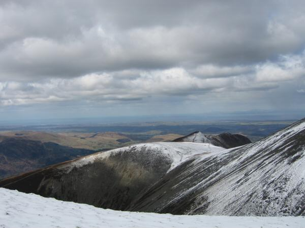 Carl Side, Longside Edge and Ullock Pike from Little Man