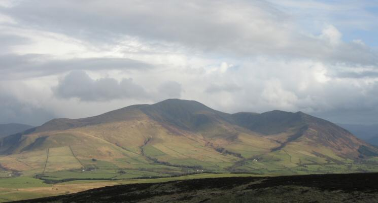 The Skiddaw massif