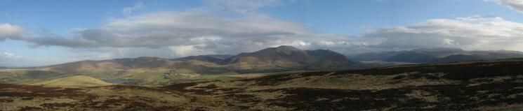 The Uldale Fells and Skiddaw Fells
