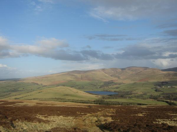 Latrigg, Over Water and the Uldale Fells