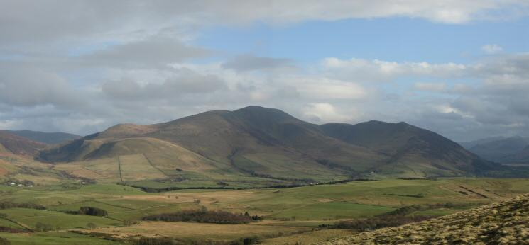 Bakestall, Skiddaw, Carl Side, Long Side and Ullock Pike