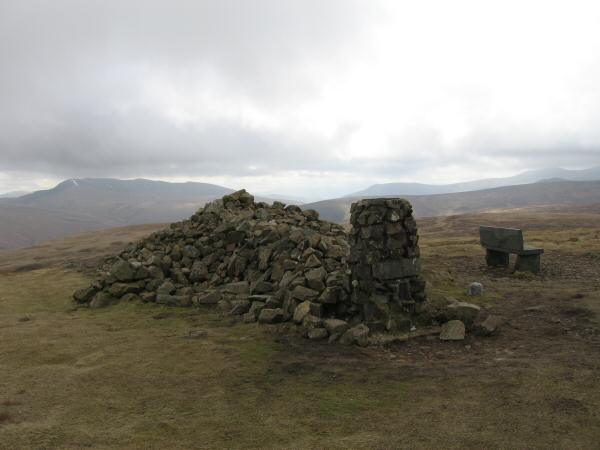 High Pike's summit