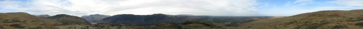 360 Panorama from Buckbarrow's summit