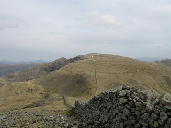 Scoat Fell with Steeple on the left from Haycock