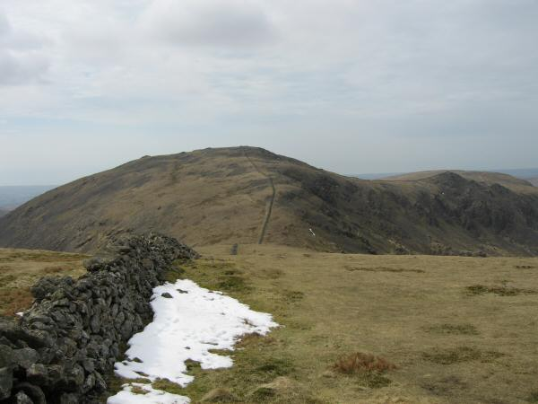 Looking back to Haycock from Scoat Fell