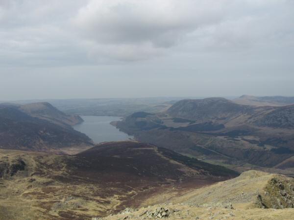Ennerdale Water from Steeple's summit
