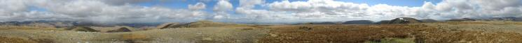 360 Panorama from Rampsgill Head summit