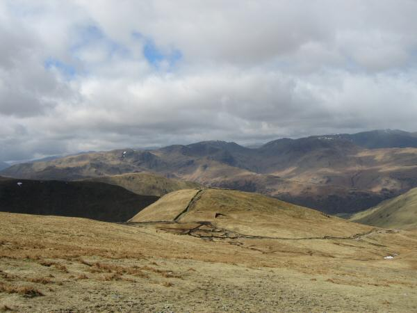The Knott with the eastern fells behind