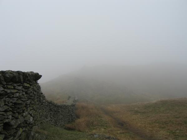 The ridge to Wansfell from Wansfell Pike