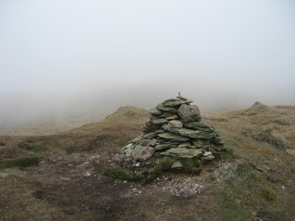Wansfell (Baystones) summmit cairn