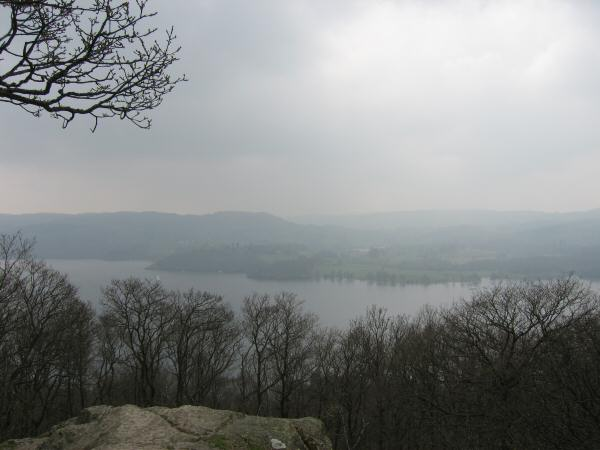 Windermere from Jenkins Crag