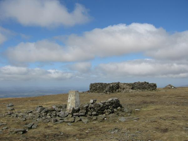 Cross Fell's summit