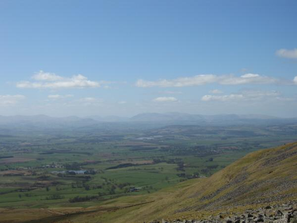 The north end of the Dodds ridge and Blencathra from Wildboar Scar