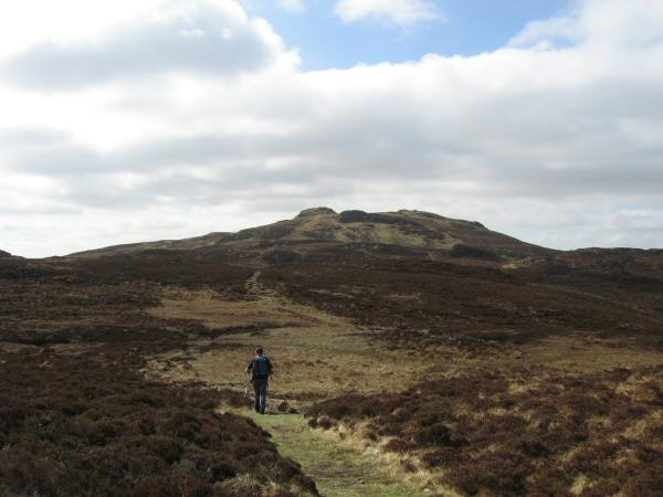 Heading for High Seat from Bleaberry Fell