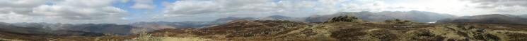 360 Panorama from High Seat's summit