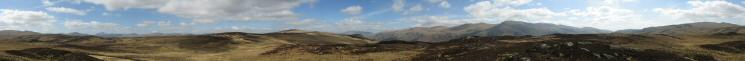 360 Panorama from Armboth Fell's summit