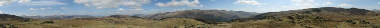 360 Panorama from Bell Crags' summit