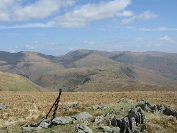 Looking over Steel Fell to Fairfield