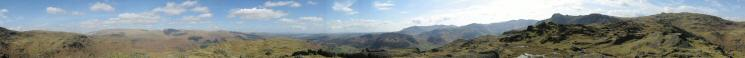360 Panorama from Blea Rigg's summit