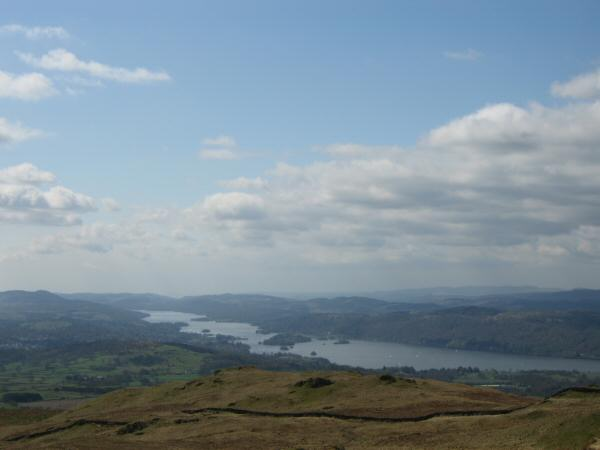 Windermere from Sour Howes summit