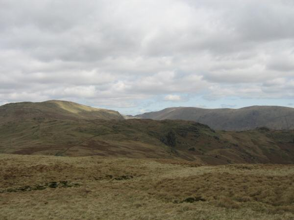 Yoke, Harter Fell and Kentmere Pike from Sallows summit