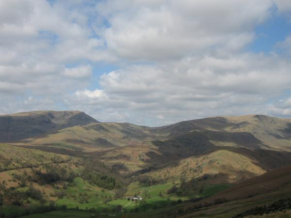 Red Screes and Caudale Moor