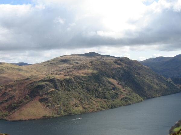 Looking across Ullswater to Place Fell