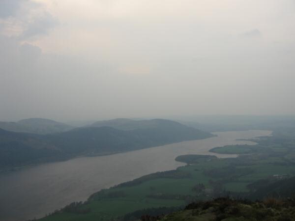 Bassenthwaite Lake from Dodd's summit