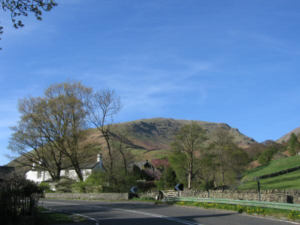 Seat Sandal from the A591 at Mill Bridge